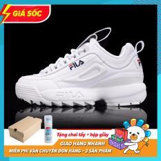 [Có Video Thật + Tặng Tẩy Giày] Giày Sneaker Fila Disruptor 2 Siêu HÓT 2019