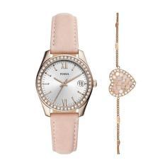 Đồng hồ Nữ dây da FOSSIL ES4607SET