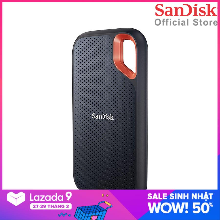 Ổ cứng di động External SSD Sandisk Extreme V2 E61 1TB USB 3.2 Gen 2 SDSSDE61-1T00-G25
