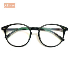 Gọng kính cận nhựa dẻo mắt tròn Elmee 125 màu sắc trẻ trung cá tính