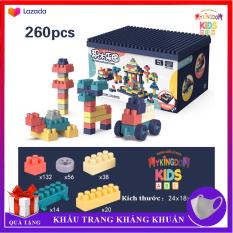 Đồ chơi Bộ xếp hình khối lắp ráp ghép mô hình nhiều chi tiết cho trẻ từ 6 tuổi