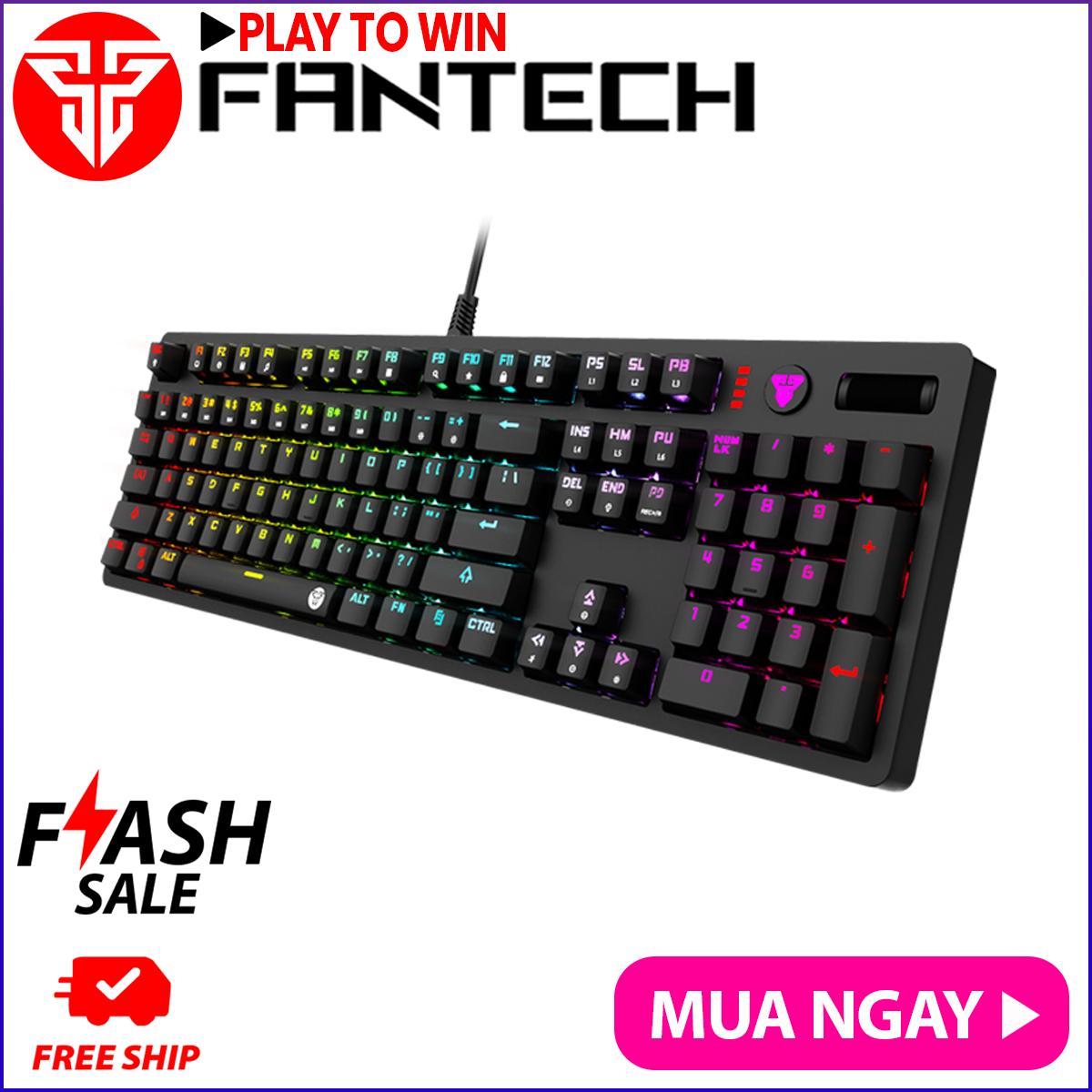 Bàn Phím Cơ Gaming Full-sized Có Dây Fantech MK851 MAXPRO Outemu Blue/Brown Switch LED RGB Full Anti Ghosting Có Phần Mềm Tùy Chỉnh Riêng – Hãng Phân Phối Chính Thức