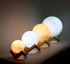 Đèn ngủ mặt trăng 3D cảm ứng, đèn ngủ , đèn cảm biến