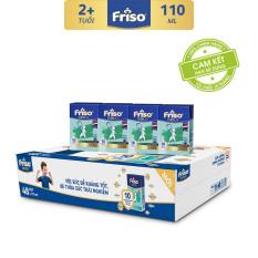 [Freeship] Thùng 48 hộp sữa bột pha sẵn Friso Gold Vani 110ml cho bé trên 2 tuổi