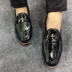 Giày Tây Nam Da Bóng Đế Vàng Lịch Lãm