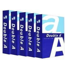 Thùng Giấy A4 in photo Double A ĐL70 – 1 Thùng 5 Ream x 500 tờ Giấy trắng đẹp