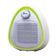 Quạt sưởi gốm mini Ceramic FujiE CH-202 Green (không phát sáng, làm ấm nhanh, tự tắt khi bị nghiêng an toàn khi sử dụng)