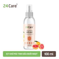 Tinh dầu xịt kháng khuẩn, khử mùi cho bé 24care – an toàn, bảo vệ bé