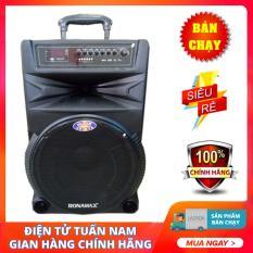 Loa Karaoke Bluetooth di động Ronamax N15 (4 tấc) – Model mới nhất chơi nhạc cực hay