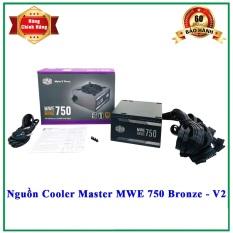 [Nhập ELJAN11 giảm 10%, tối đa 200k, đơn từ 99k]PSU Nguồn máy tính Cooler Master MWE BRONZE 750 V2 – 750W