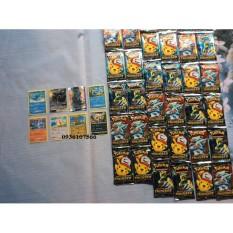 bo 1 Lốc 36 Túi Bài Pokemon Thẻ Pokemon 1 túi 8 hình Thẻ