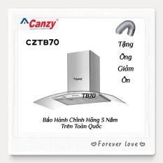 Máy Hút Mùi Kính Cong Cao cấp Canzy CZ TB70 ( Mẫu Mới 2021 )
