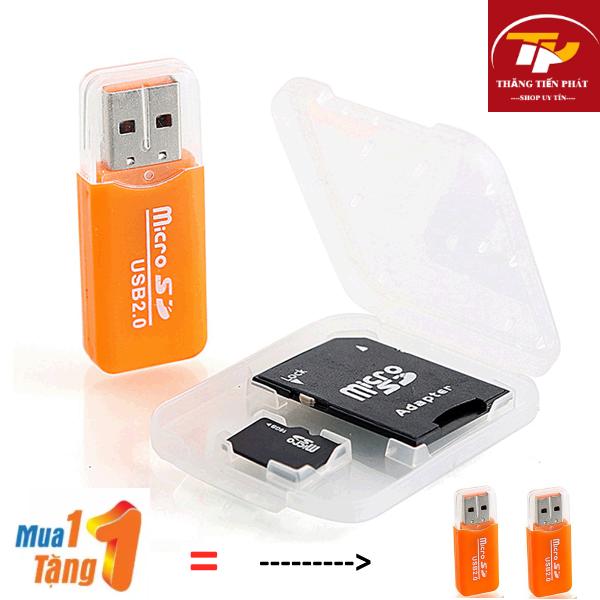{ HOT…MUA 1 TẶNG 1 } Đầu đọc thẻ nhớ MicroSD chuyện dụng TTP-999