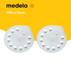 Phụ kiện máy hút sữa │Combo 2 van trắng dùng cho máy hút sữa Medela Pump, Swing, Mini và Harmony