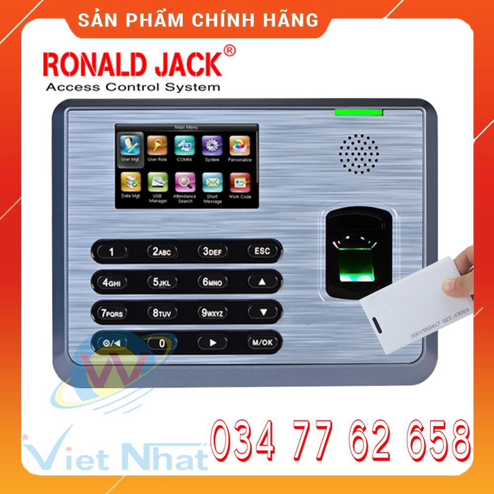 Ronald Jack TX-628 [NEW 2020] – Máy Chấm Công Vân Tay & Thẻ – Hàng Nhập Khẩu Chính Hãng – Tặng Phần Mềm Chấm Công