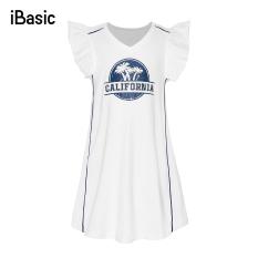 [Hàng mới về ] – [iBasic] Đầm ngủ bé gái cotton cao cấp mềm mại – HOMG006