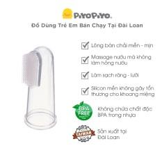 Rơ lưỡi Silicone cho bé từ 0 – 6M+ Piyo Piyo, nhập khẩu Đài Loan