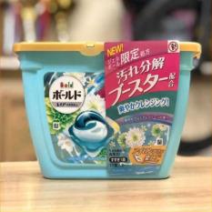 Hộp viên giặt 3D GELBALL Nhật Bản – màu xanh