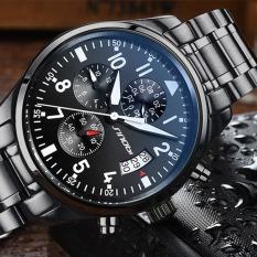 Sinobi Fashion Mens Watches Business Man's Quartz Wristwatches Casual Clock For Male
