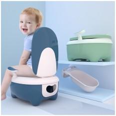 Bô đi vệ sinh cho bé