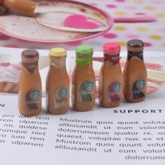 Charm Slime Mô hình set 05 Café Starbucks Đóng Chai HPMCharm