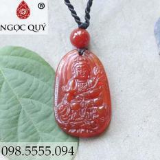 Phật phổ hiền bồ tát đá mã não đỏ
