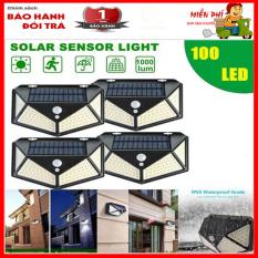 Đèn LED năng lượng mặt trời, Đèn Cảm Biến Chuyển Động Ngoài Trời Simplife, 100 bóng LED, 3 chế độ chỉnh, cảm biến chuyển động thông minh chống nước tiêu chuẩn IP65,Góc Quay Rộng 270 ° – Tech Boss