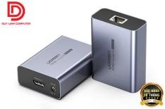 Ugreen 50739 – Bộ kéo dài HDMI 50m qua mạng lan Cat5e, Cat6 chính hãng
