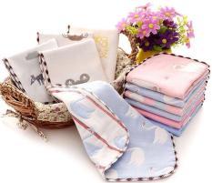 Set 5 khăn sữa sợi tre 6 lớp cho bé