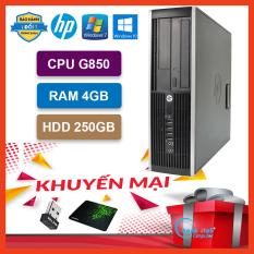 Máy Tính Để Bàn Đồng Bộ HP Pro 6300/8300 (Pentium G850/4G/HDD 250G) – Máy Tính Văn Phòng – Bảo Hành 24 Tháng – Tặng USB Wifi Và Bàn Di.