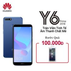 Huawei Y6 prime 16GB 2GB 5.7″ 1440x720P Snapdragon 425 CPU 13MP+8MP Camera Android 8.0 3000mAh