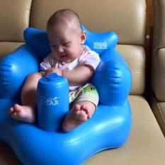 Ghế hơi tập ngồi cho bé, giúp bé tập ngồi, ngồi ăn và ngồi cho mẹ tắm, thiết kế vị trí ngồi giúp cân bằng trọng lực bé