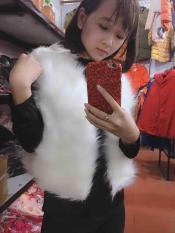 Áo gile lông hàng QC xuất Hàn