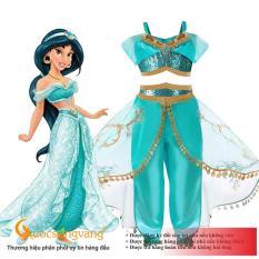 Bộ đồ công chúa Jasmine bộ đồ bé gái dễ thương GLSET039 Cuocsongvang
