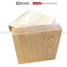 Miếng gỗ vuông Dwood gỗ thông mới nhập khẩu