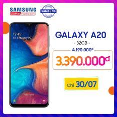 Điện thoại Samsung Galaxy A20 32GB/3G – Hàng phân phối chính hãng