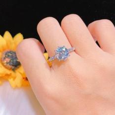 Nhẫn Bạch Kim Nữ Không Phai Màu Gadoshop KN03041901 – Dùng Đi Tiệc Cực Kì Sang Chảnh