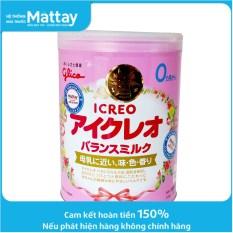 Sữa Bột Glico Icreo Số 0 – Hộp 800g