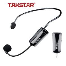 Micro cài đầu không dây TAKSTAR HM-200W công nghệ UHF, mic cài đầu cho máy trợ giảng-loa kéo-loa thùng, Bảo hành 1 năm