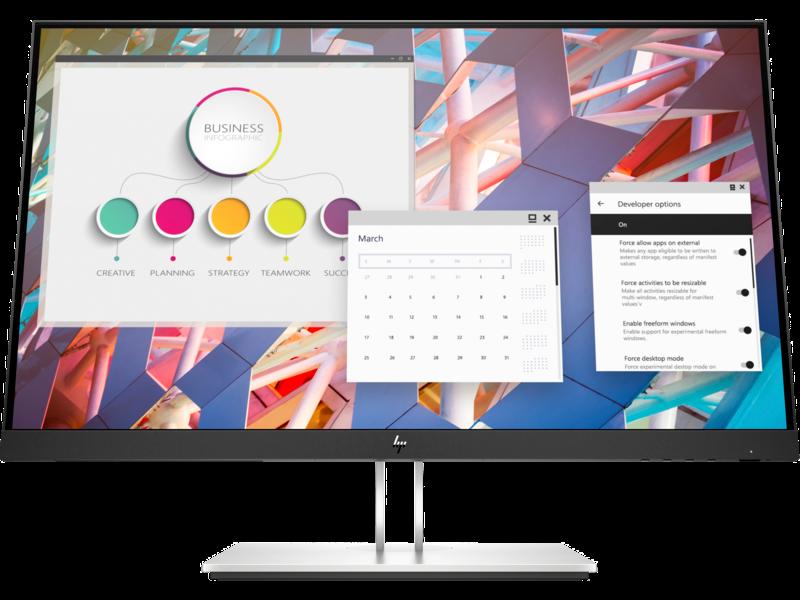 Màn hình vi tính HP E24 G4 23.8″ FHD Monitor,3Y WTY9VF99AA – Hàng chính hãng