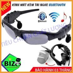 Kính thông minh 5.0, kính bluetooth kèm tai nghe BLuetooth