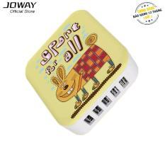 Bộ nguồn sạc 5 cổng USB JOWAY JC27 cho điện thoại, máy tính bảng – Hãng phân phối chính thức