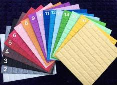 20 tấm Xốp Dán Tường 3D Giả Gạch / Chịu lực, chống nước, chống ẩm mốc / 70x77cm loại 2