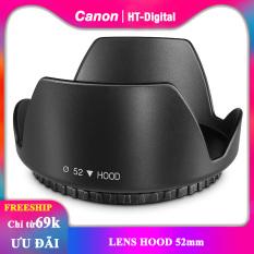 Lens hood vặn răng 52mm 58mm 77mm (Loa che nắng cho ống kính)