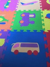SALE 20 miếng xốp lót sàn cho bé nhiều hình ảnh vui nhộn