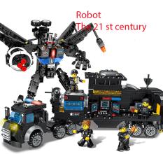 Lego Robot, Lắp Ráp Robot Đoàn Tàu, Đồ Chơi Lắp Ráp [HOT 2020]