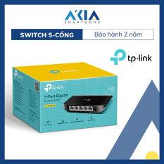 Switch Chia Tín Hiệu Để Bàn 5 cổng Gigabit TL-SG1005D – Hàng Chính Hãng