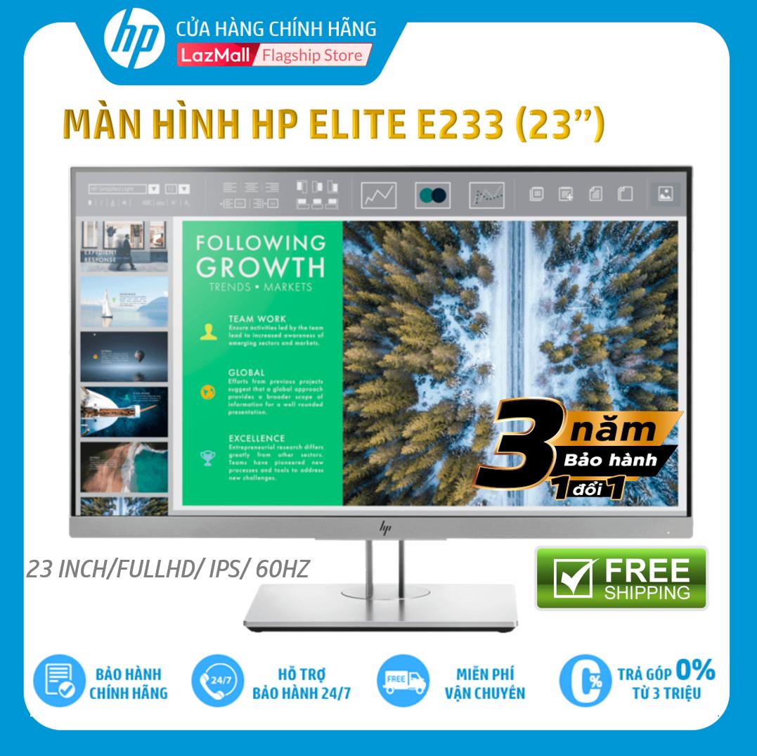 [Trả góp 0%] Màn hình HP EliteDisplay E233 (23 Inch/FULLHD/60Hz/5Ms/IPS/1FH46AA) – Hàng Chính Hãng