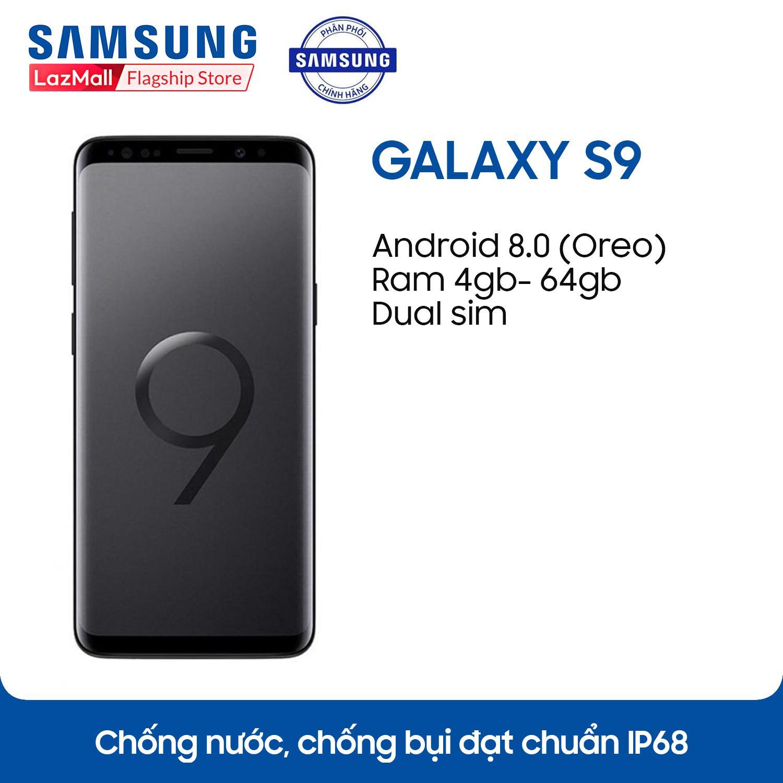 Điện thoại Samsung Galaxy S9 - 4GB RAM - 64GB ROM - 5.8 inch - - Android điện thoại thông...