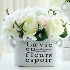 Bình hoa giả tráng trí